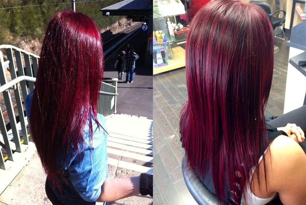 Hair Color 2017 Black Cherry Hair Cool Haircuts