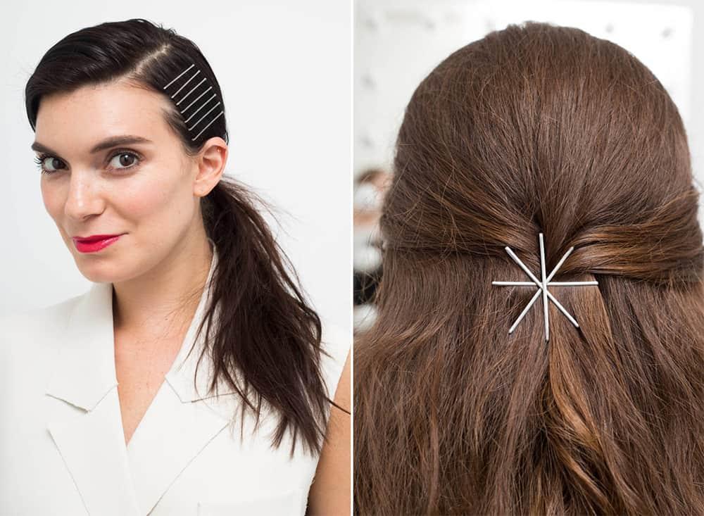 Как себе сделать прическу на средние волосы с невидимками