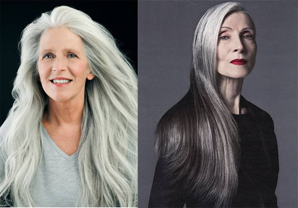 Hair Color Trends 2017 Granny Hair Cool Haircuts