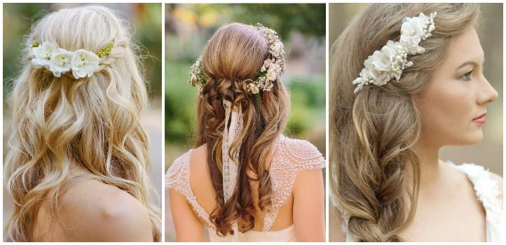 2017 Hair Trends: Hairstyles For Rustic Wedding