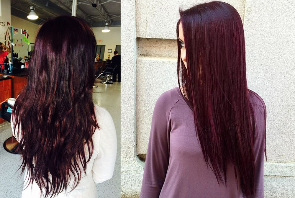 Hair Color 2017 Black Cherry Hair