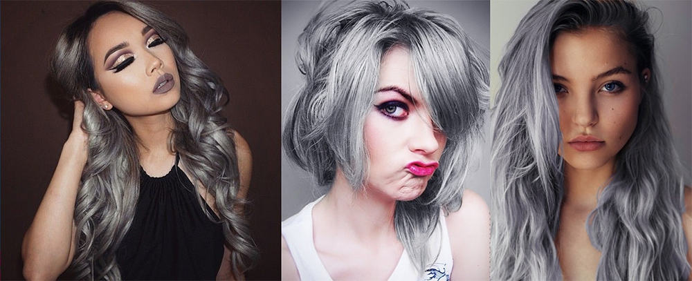 Hair Color Trends 2017 Granny Hair
