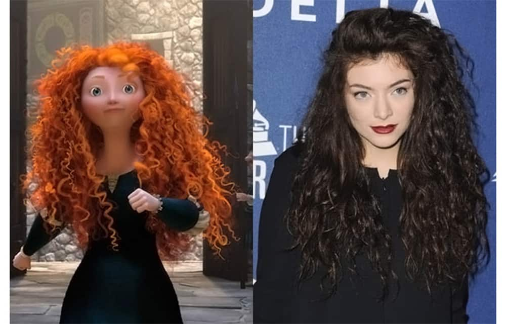 Merida Disney Princess Hairstyles Kids 2017 Hair Trends