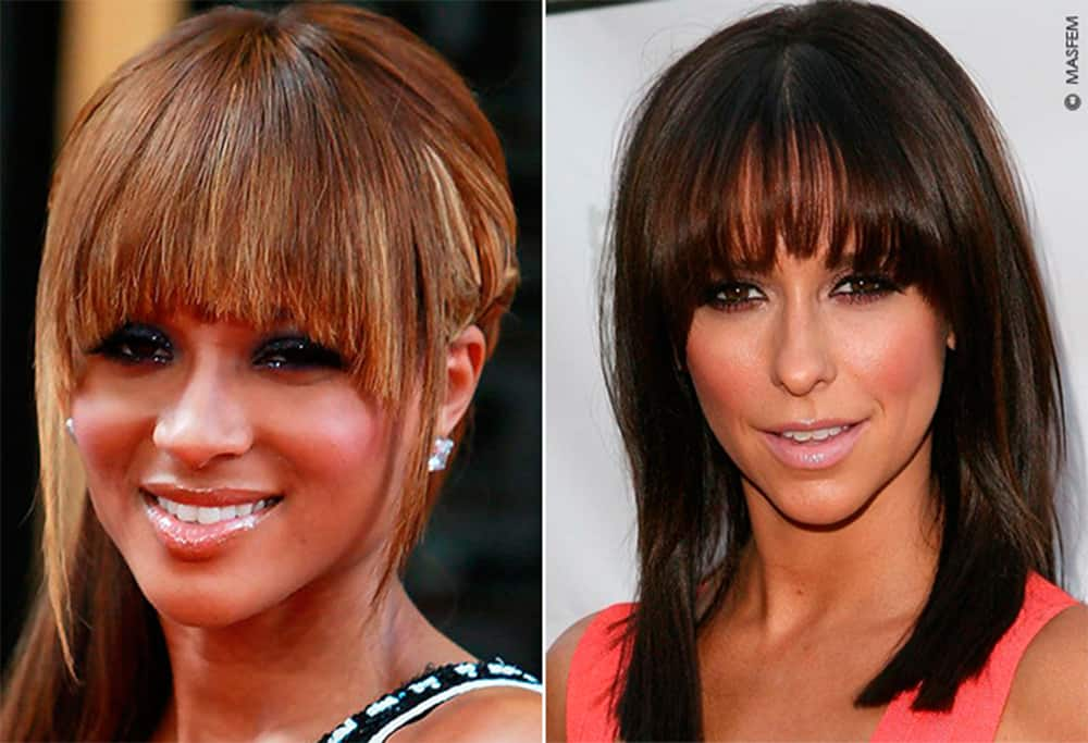 Women Haircuts 2017: Straight Bangs