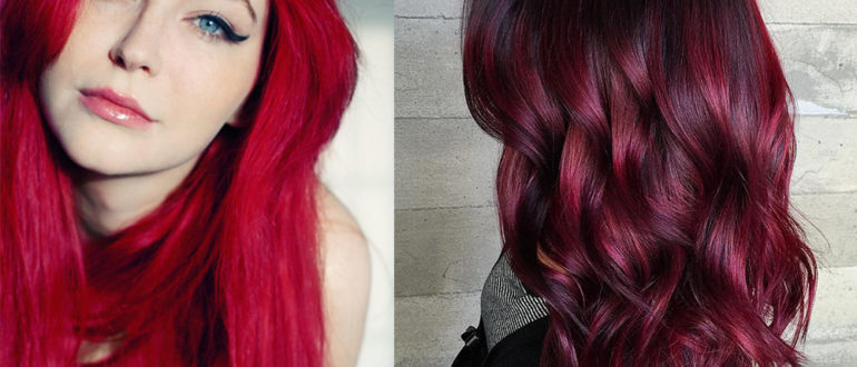 Red-hair-shades-hair-color trends 2017-hair-color-ideas-hair-trends-2017