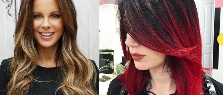 Two-color-hair-hair-color-2017-hair-trends-2017-hair-color-ideas