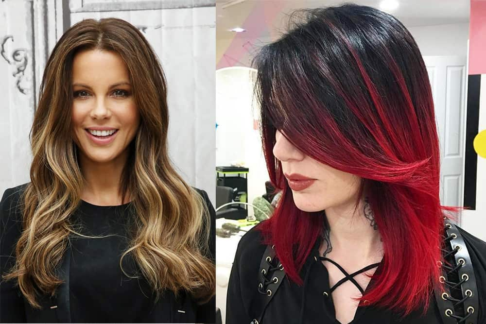 two tone hair color styles hair trends 2017 two color hair 3392