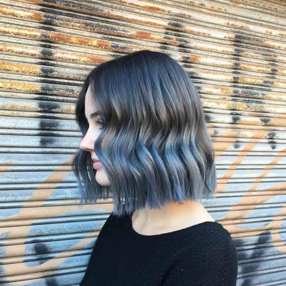 Denim-hair-hair-color-2017-womens-hairstyles-2017-hair-color-ideas-Denim hair