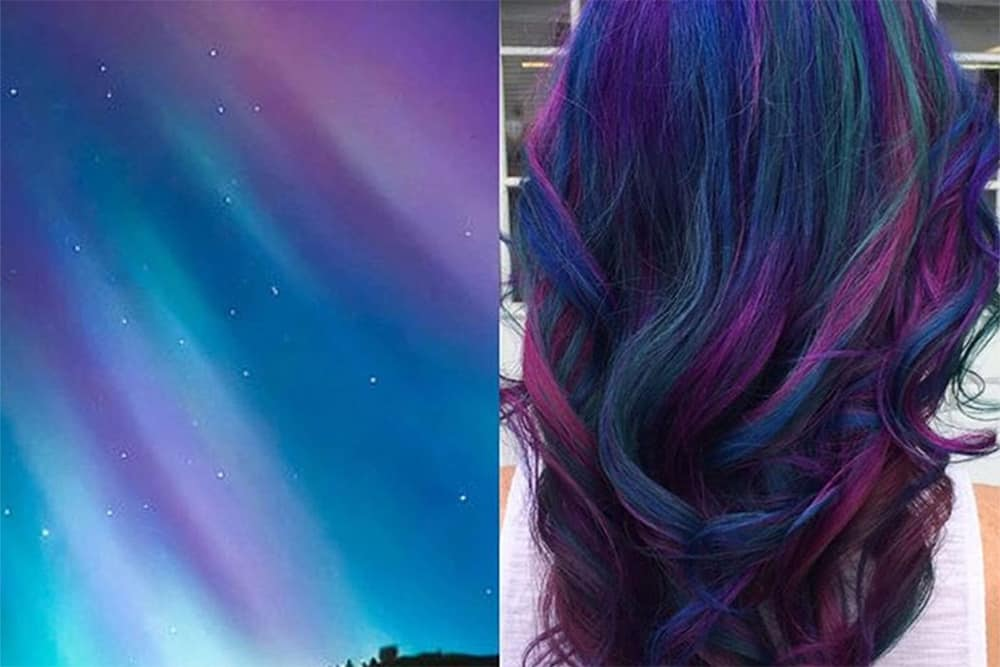 Hair Color 2017 Galaxy Hair