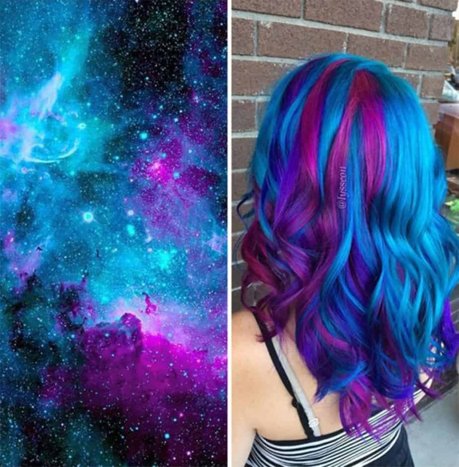 Galaxy-hair-hair-color-2017-womens-hairstyles-2017-hair-trends-2017-Hair color 2017