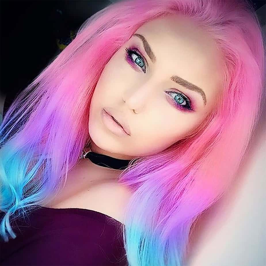 Pastel hair: Hair color 2017