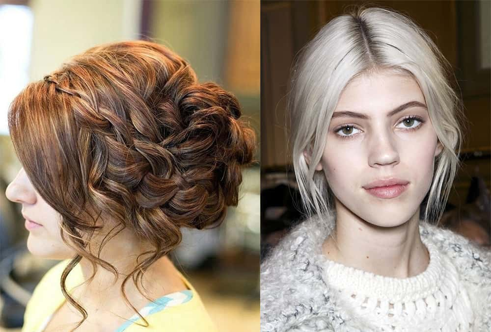 Hairstyles For Women 2018: Christmas Hairstyles 2018: Photos And Tips