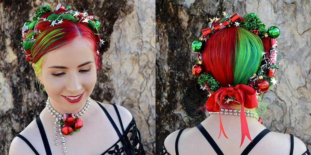 Christmas hairstyles 2018: Photos and tips