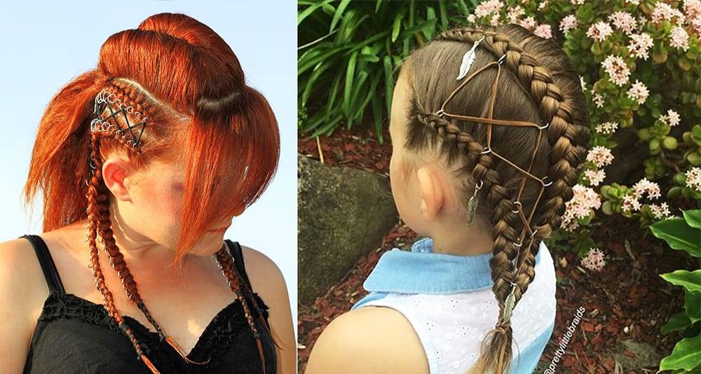 Corset-braids-and-Hair-Piercing-womens-hairstyles-2018-cool-hair-ideas-Womens hairstyles 2018-cool hair ideas