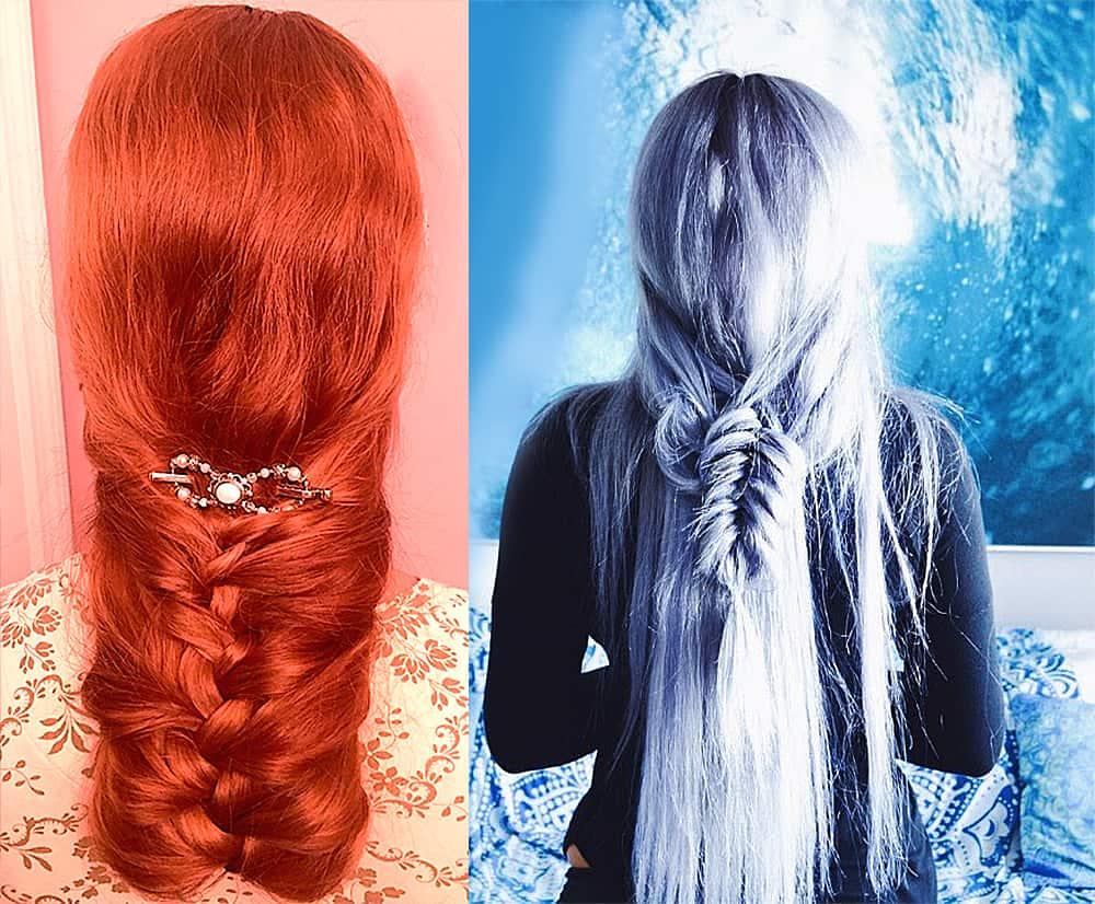 Long-hair-ideas-braided-hair-updos-fantasy-Cool long hairstyles-Braided hair updos