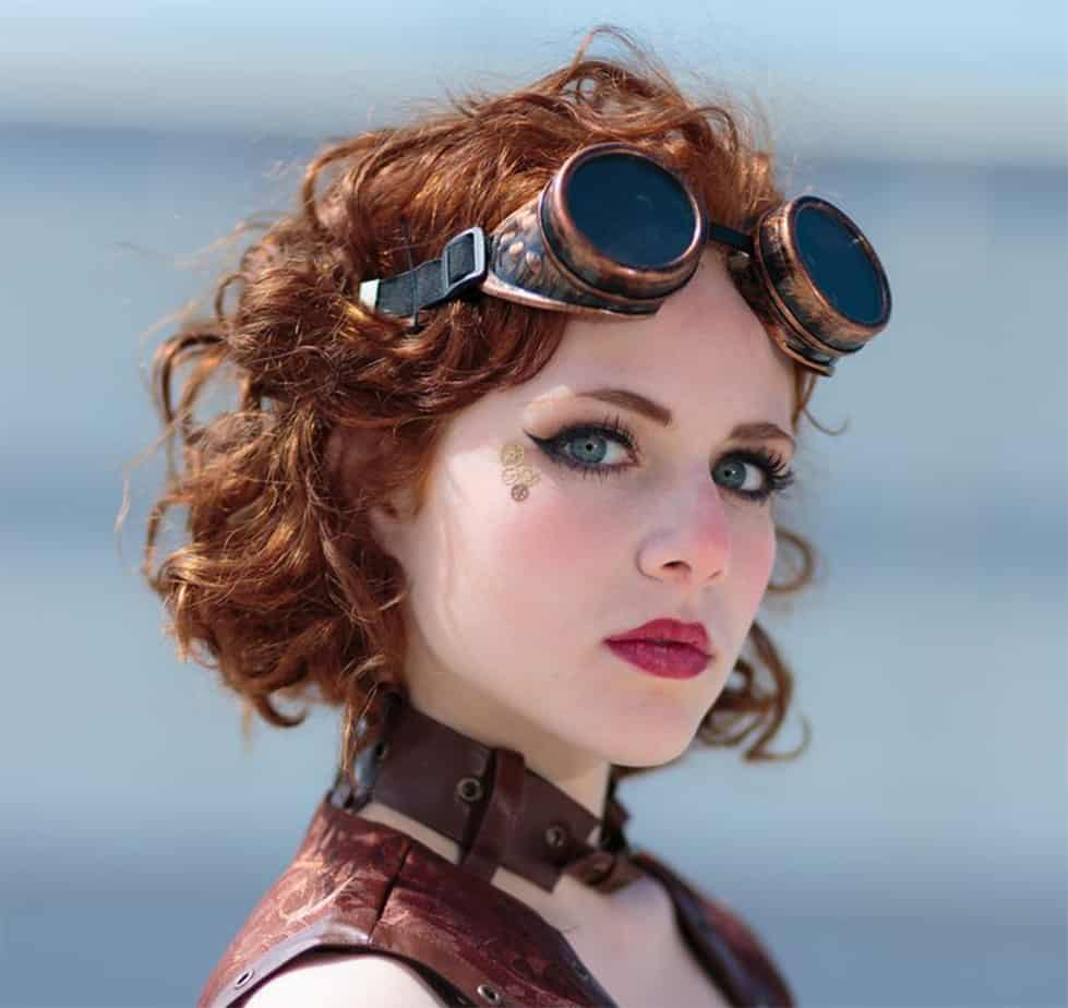 Top 13 Brightest Steampunk Hairstyles to Look Classy and Awesome