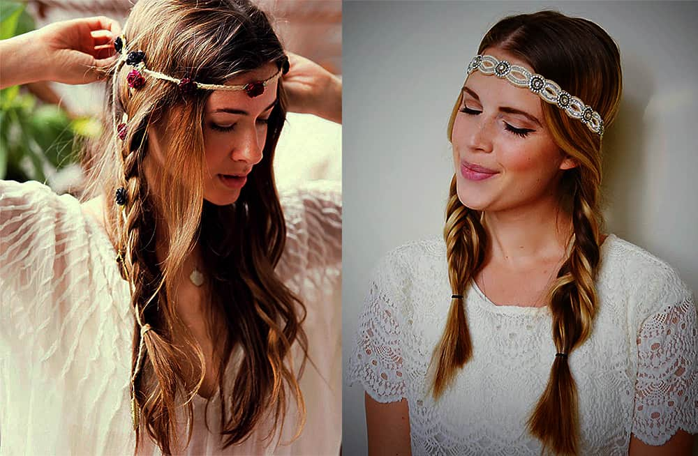 Boho-braided-pigtails-with-accessories