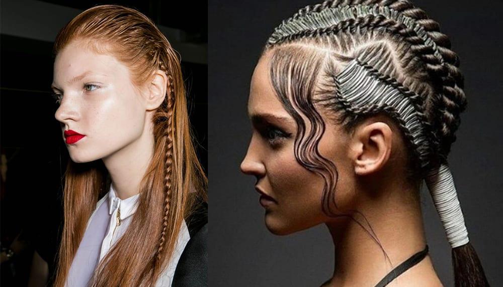 Braid-Wet-look-hair-new-hair-trends-easy-hair-ideas-New hair trends
