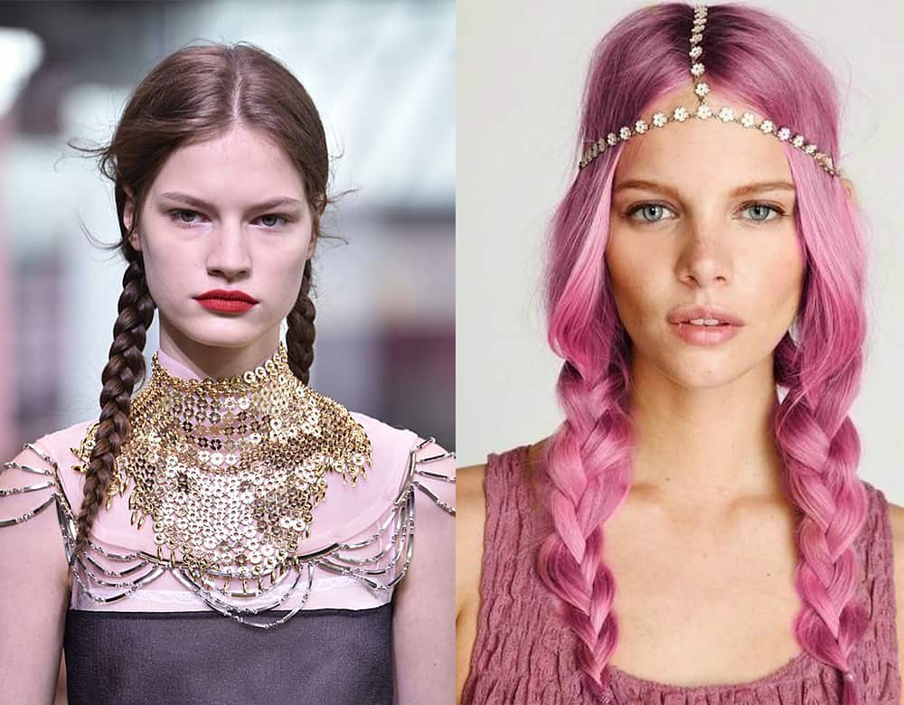 Braided Pigtails: 7 Cool Hair Ideas