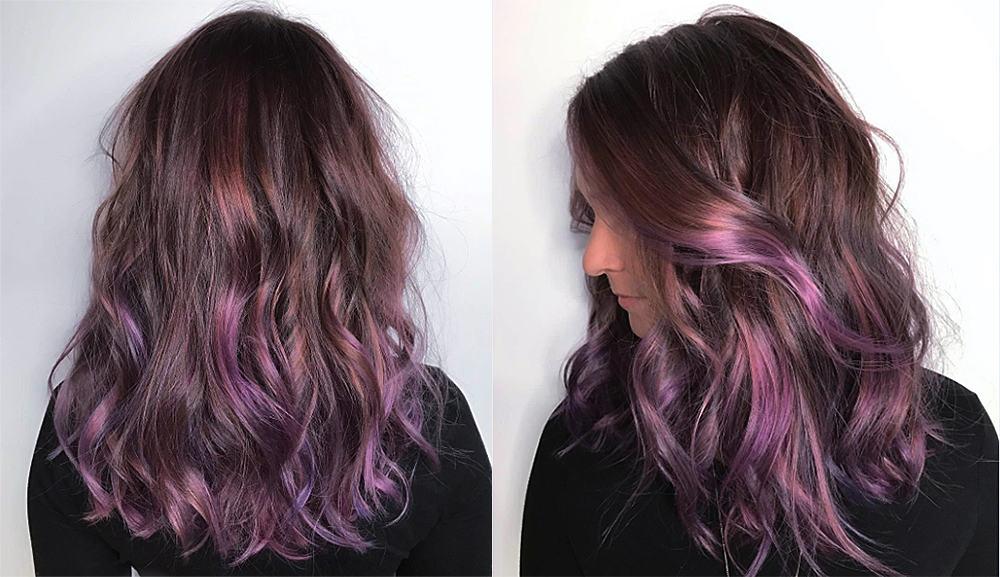 Chocolate-mauve-hair-fantasy-hair-colo-Chocolate mauve hair-hair coloring ideas-fantasy hair color