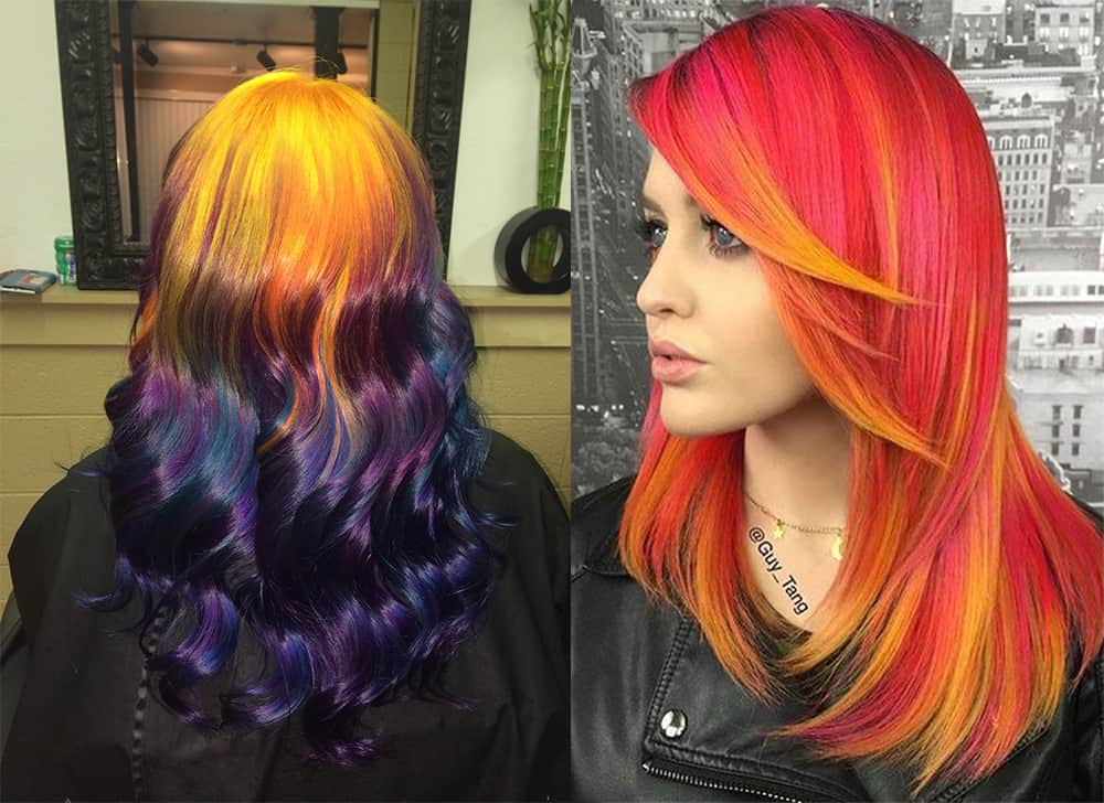 Fire-hair-Trending-hair-colors- new-hair-color-trends-hair-dye-tips-hair coloring ideas