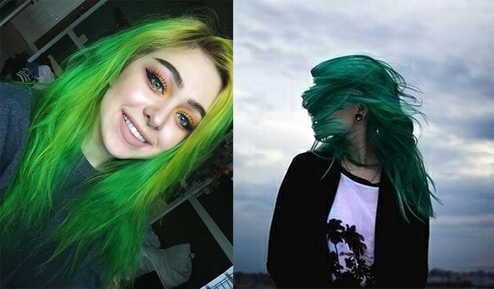 Green-hair-color-fantasy-hair-color-Green hair color-fantasy hair color