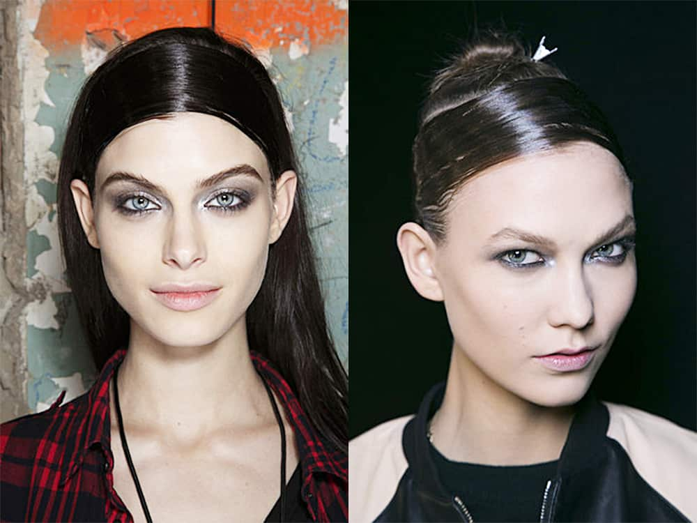 Headband-Wet-look-hair-new-hair-trends-easy-hair-ideas-Easy hair ideas-Wet look hair