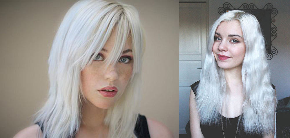 Light-hair-colors-trending-hair-colors-platinum-blonde- hair coloring ideas