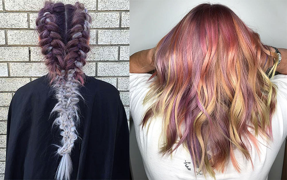 Partial-Chocolate-mauve-hair-hair-coloring-ideas-Chocolate mauve hair-hair coloring ideas-fantasy hair color