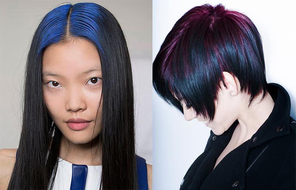 Shadow-roots-hair-fantasy-hair-color-hair-coloring-ideas-Shadow roots hair