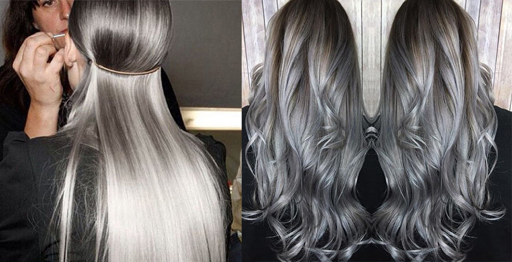Silver-hair-Light-hair-colors-trending-hair-colors-hair-coloring-ideas- hair coloring ideas