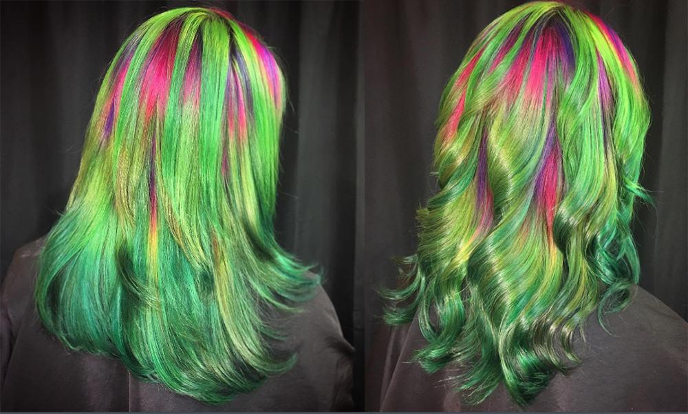 Ursula-Goff-Watermelon-hair-hair-coloring-ideas-hair-dye-tips-hair coloring ideas