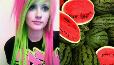 Watermelon-hair-hair-coloring-ideas-hair-dye-tips