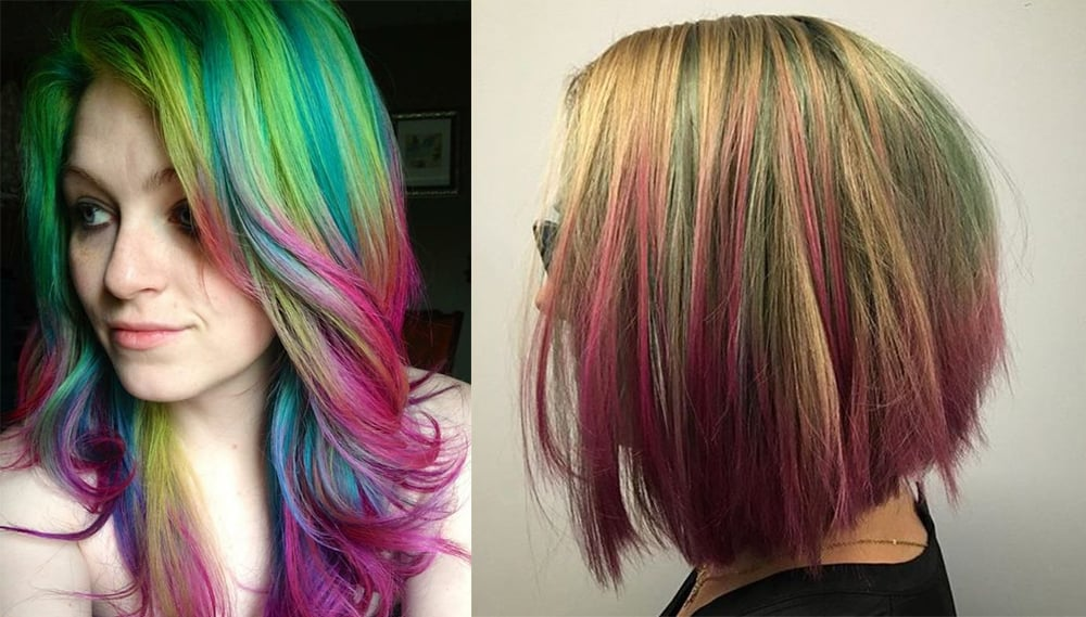 cool hair dying styles watermelon hair keep summer on your 5970