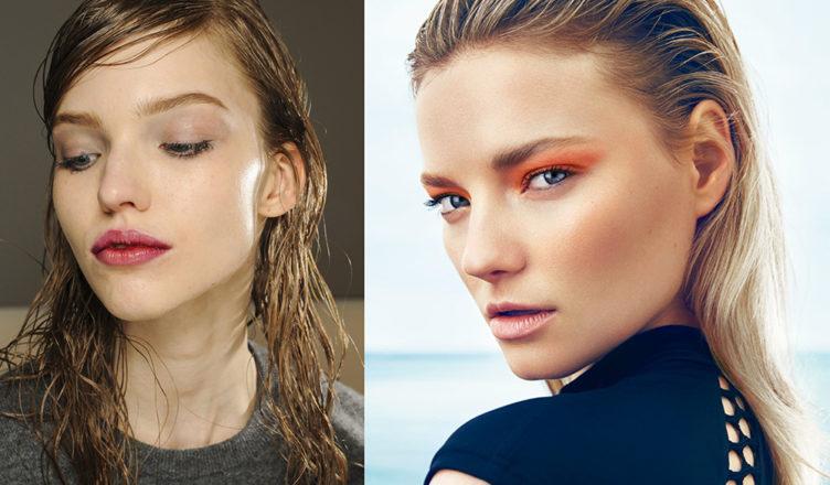 Wet-look-hair-new-hair-trends-easy-hair-ideas