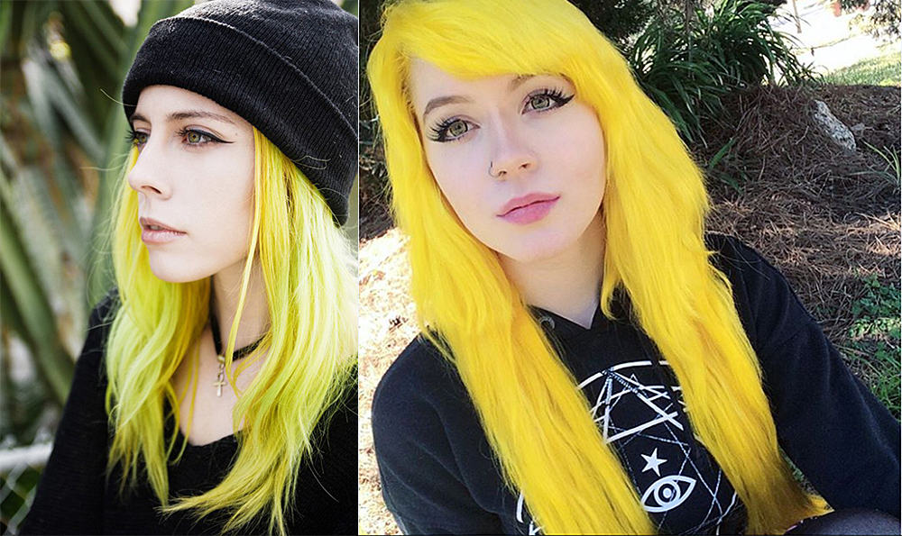 Yellow-hair-color-blonde-hair-shades-colorful-hair-ideas-blonde hair shades-colorful hair ideas