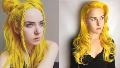 Yellow-hair-color-blonde-hair-shades-colorful-hair-ideas