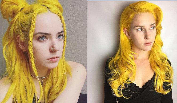 Yellow-hair-color-blonde-hair-shades-colorful-hair-ideas