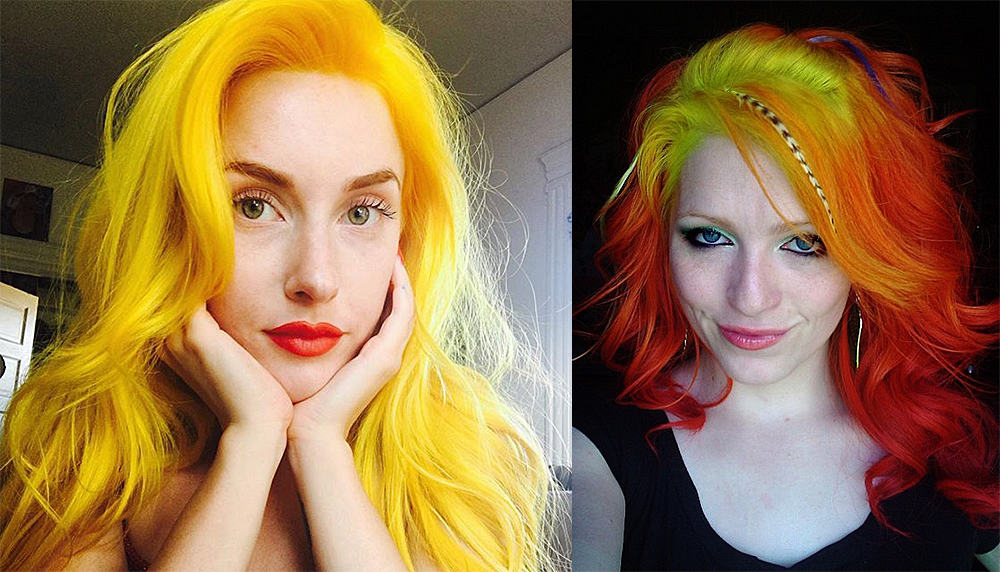 Yellow-hair-color-blonde-hair-shades-for-autumn-color-type-blonde hair shades-colorful hair ideas