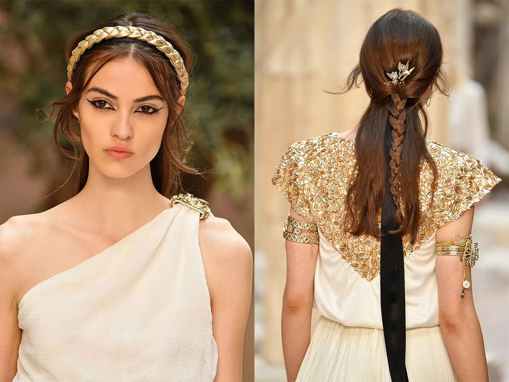 Chanel-Greek-style-Trendy-hairstyles-2018-hair-fashion-2018-hair-designs-for-womens-Trendy hairstyles 2018