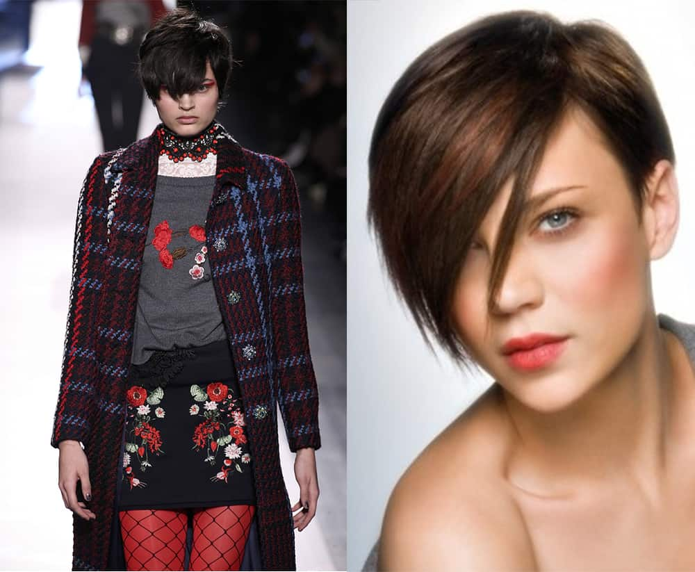Short Haircuts 2018: Fresh Women's Hair Ideas From Catwalks