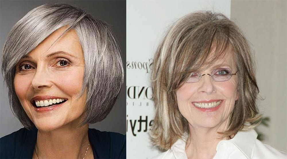 Bob hairstyles for middle aged women