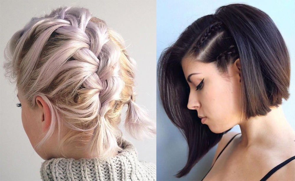Dragon and cornrow short hair ideas