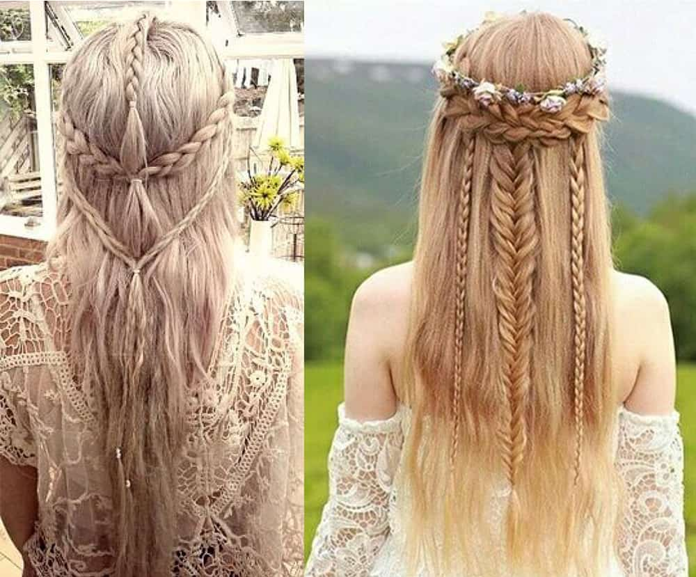 Fantasy inspired hairstyles for teenage girls