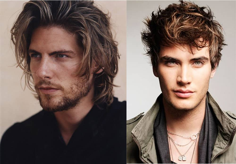 Hair color inspiration Mens haircuts 2018