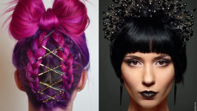 New Year 2018 hairstyles