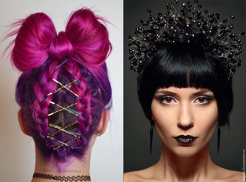 New Year 2018 Hairstyles: Little Hair Magic Secrets