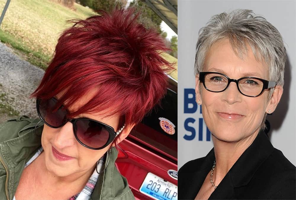 Cool spiky hairstyles for middle aged women