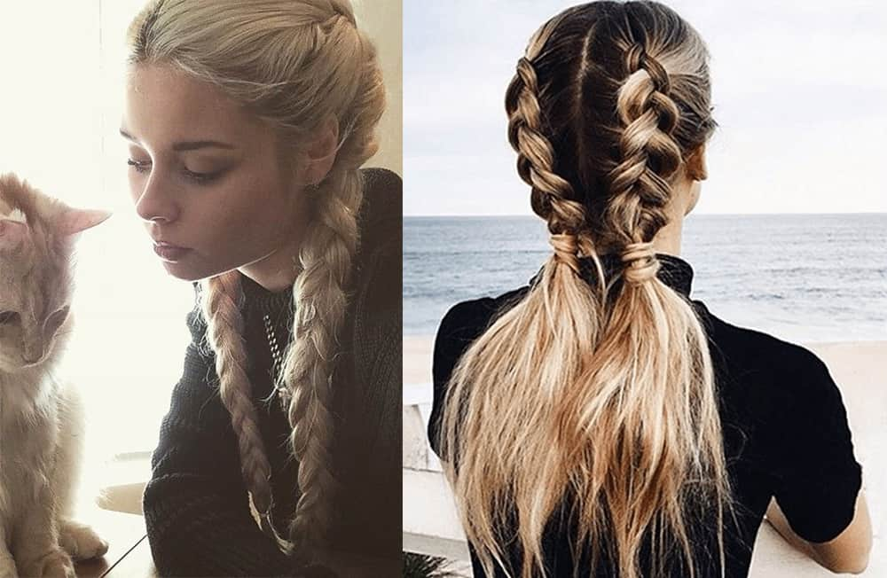 Sport style Valentines hairs