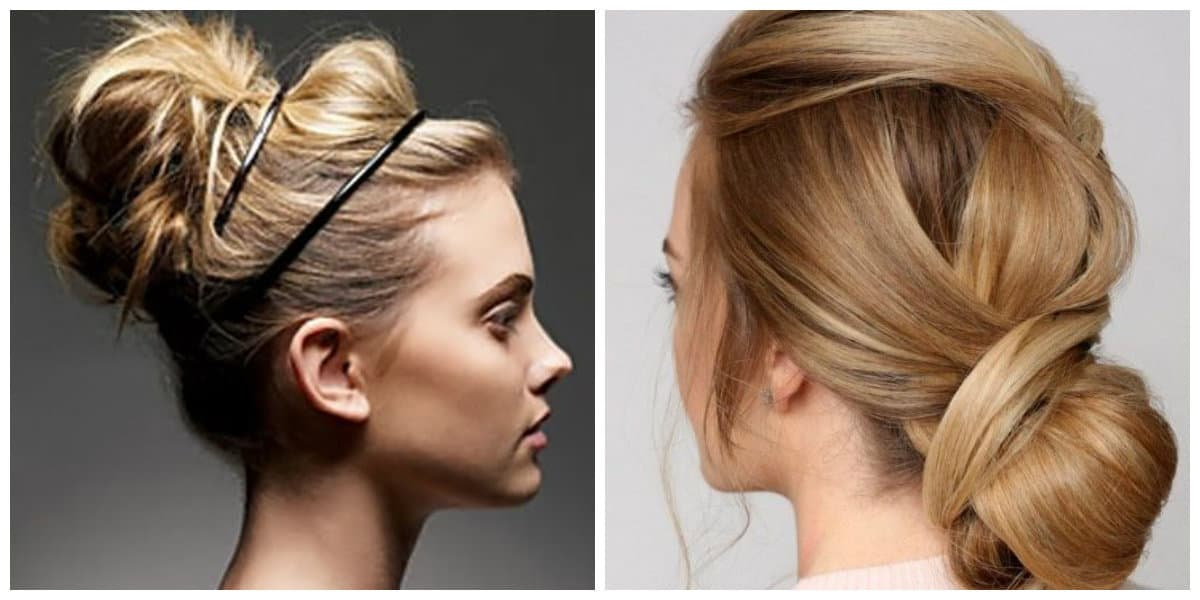 easy hairdos for long hair, fashionable beam on long hair